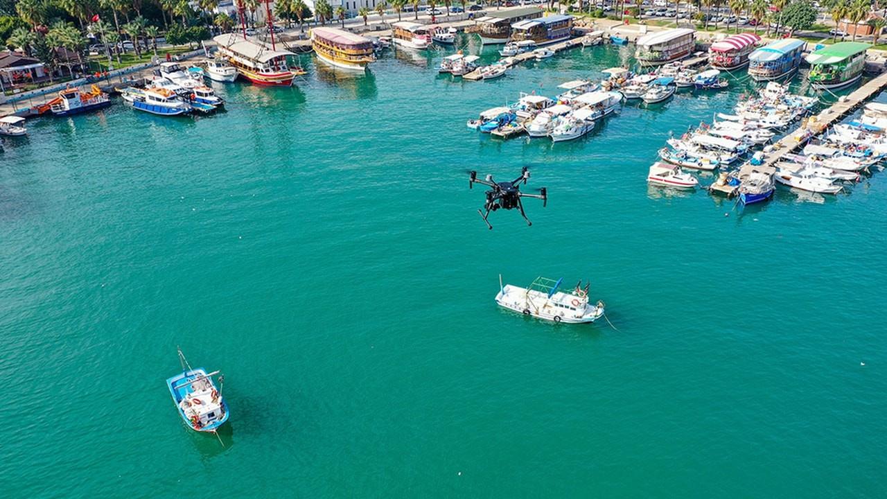 Denizi kirleten gemiye 1 milyon 490 bin lira ceza