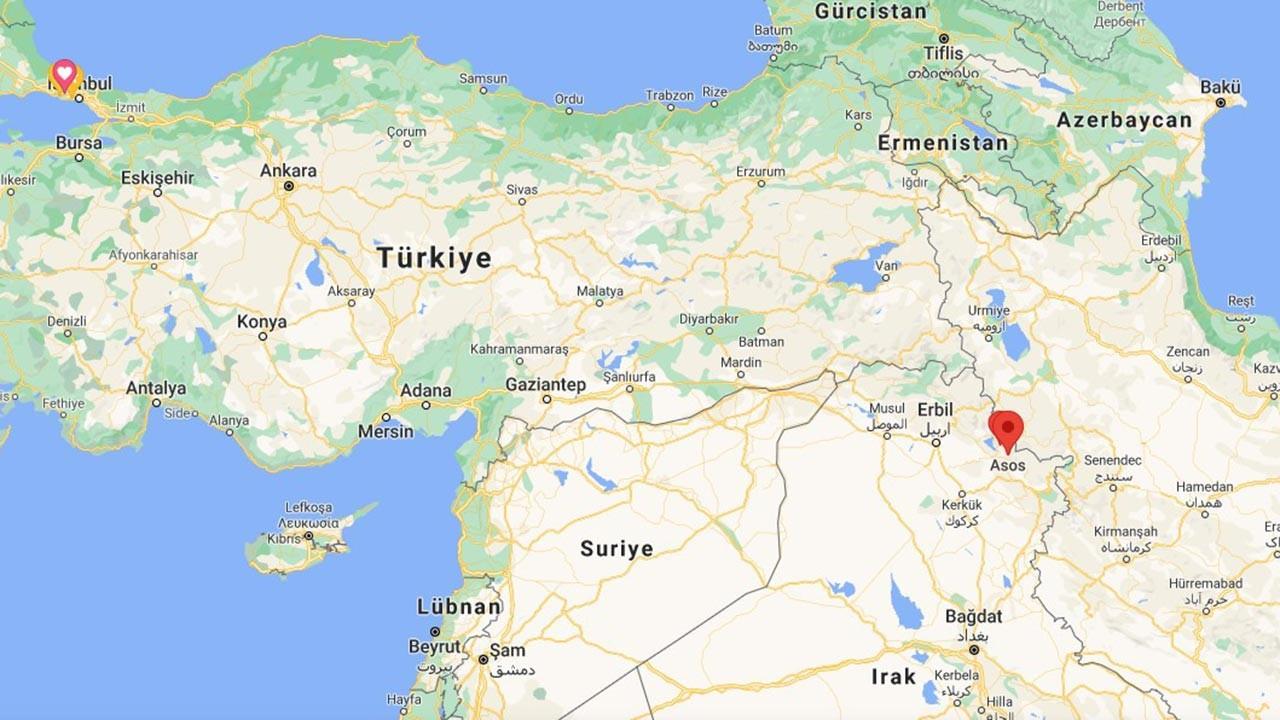 Asos Bölgesi nerede, Irak'ın neresinde yer alıyor?