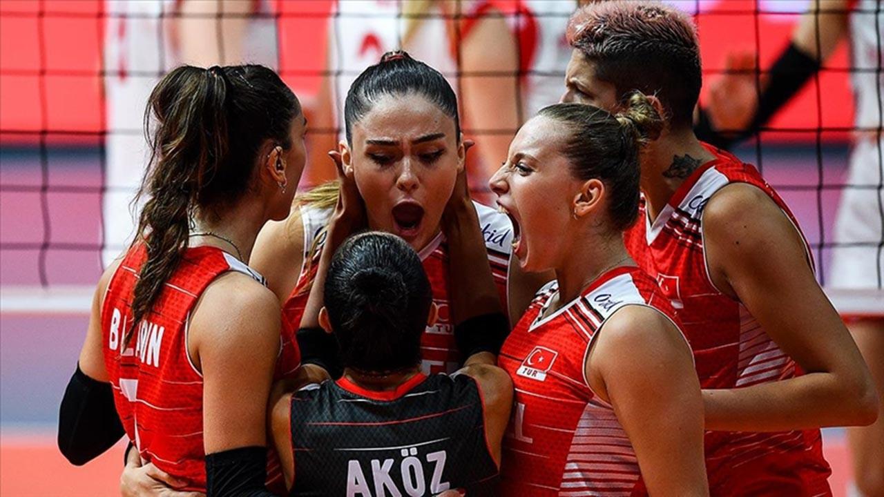 Milli Kadın Voleybol Takımı yarı finalde