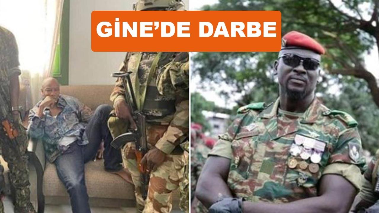 Gine'de askeri darbe, Türkiye'den sert tepki