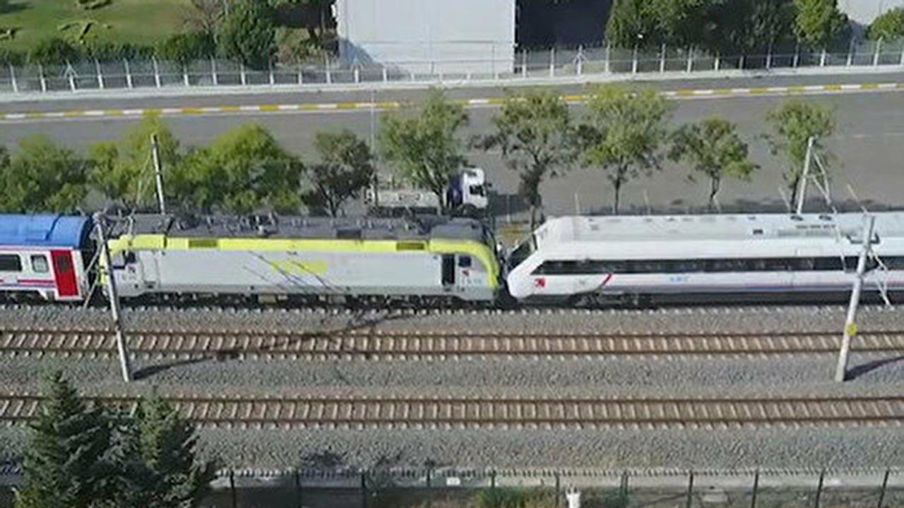 İstanbul'da tren faciası son anda önlendi