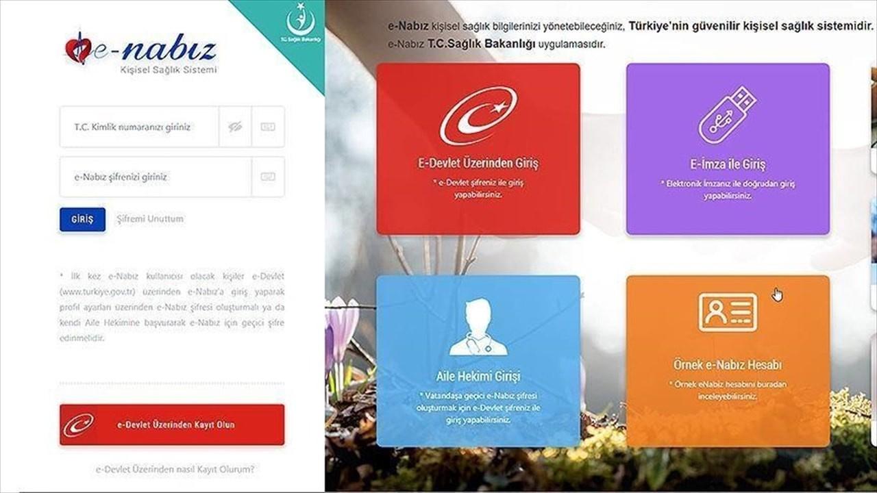 e-Nabız sistemine aşı kartı için yeni özellik