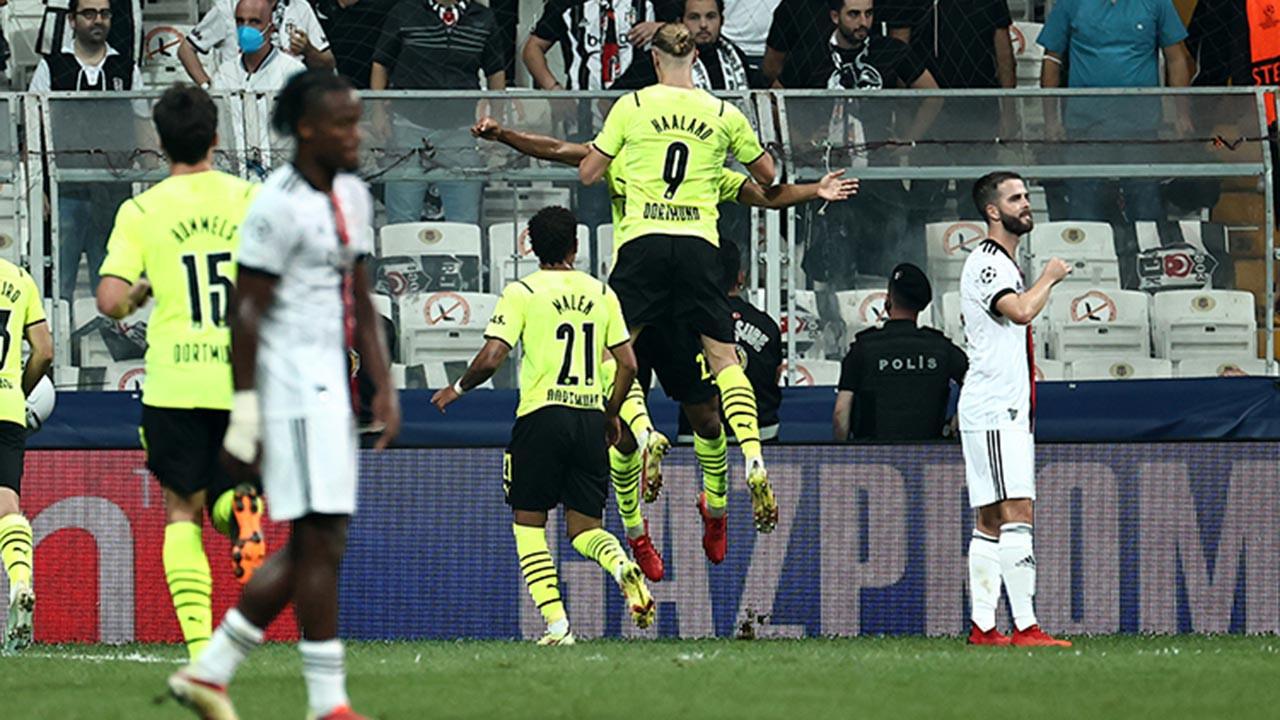 Beşiktaş Borussia Dortmund maçı kaç kaç bitti, golleri kim attı, maç özeti?