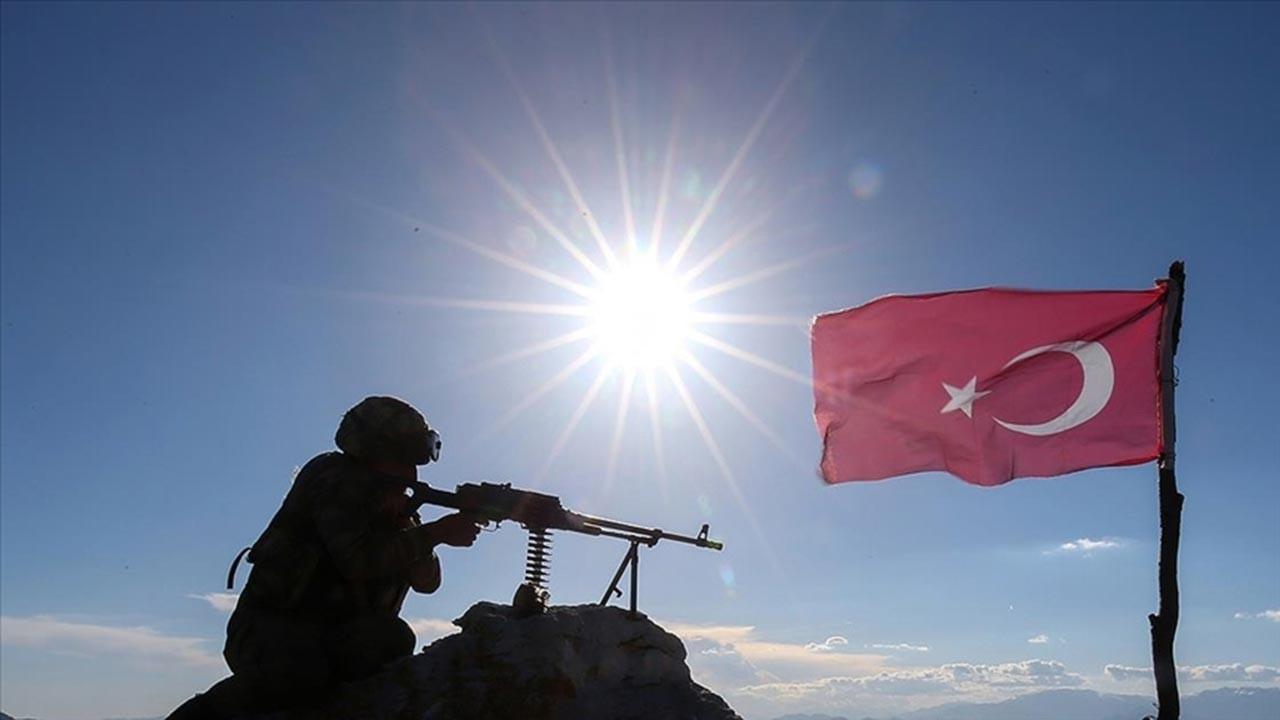 Suriye'nin kuzeyinde 7 terörist öldürüldü