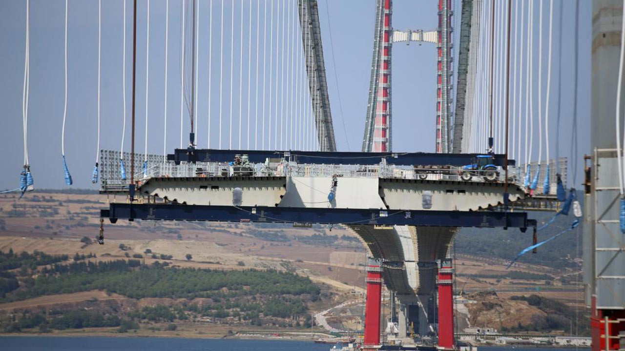Çanakkale Köprüsü son durum nedir, kaç tabliye kaldı, ne zaman biter?