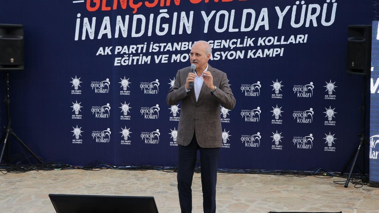 Numan Kurtulmuş Edirneli gençlerle buluştu