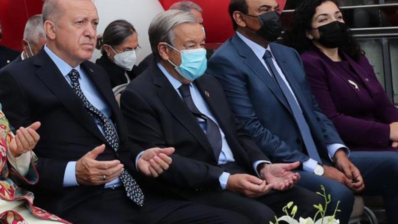 BM Genel Sekreteri de Erbaş'ın duasına eşlik etti