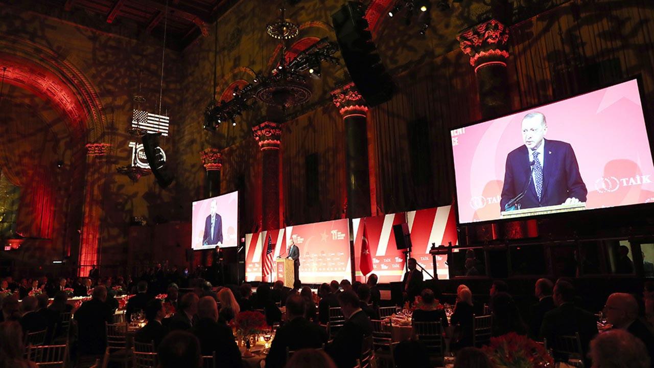 Cumhurbaşkanı Erdoğan ABD iş dünyasına seslendi