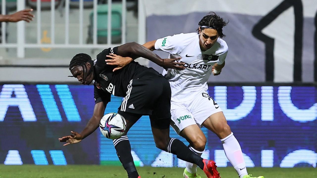 Beşiktaş Altay maçı kaç  kaç bitti, golleri kim at