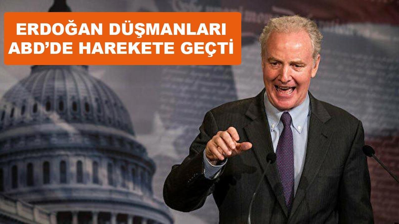 Erdoğan düşmanı ABD'li senatörler harekete geçti