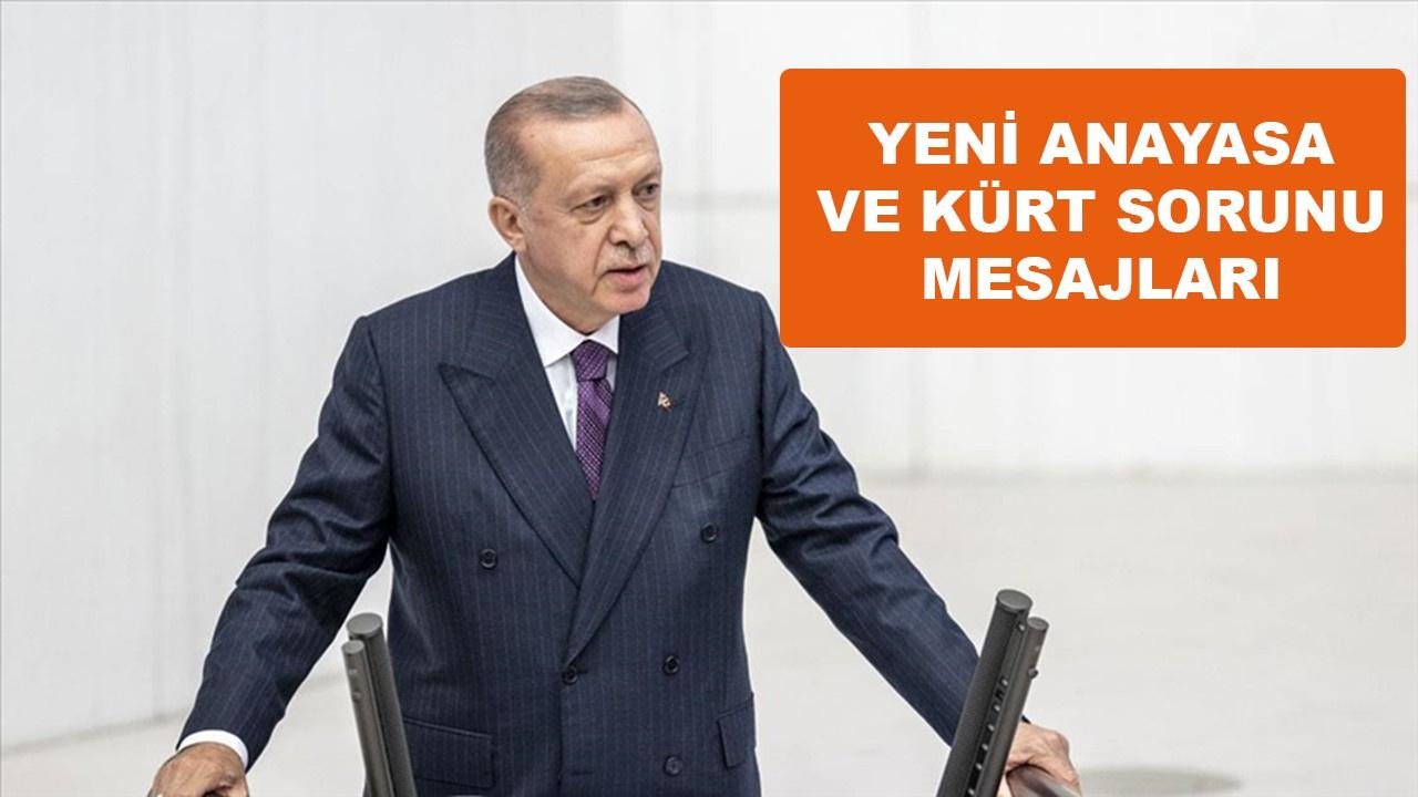 Erdoğan, TBMM'de önemli mesajlar verdi