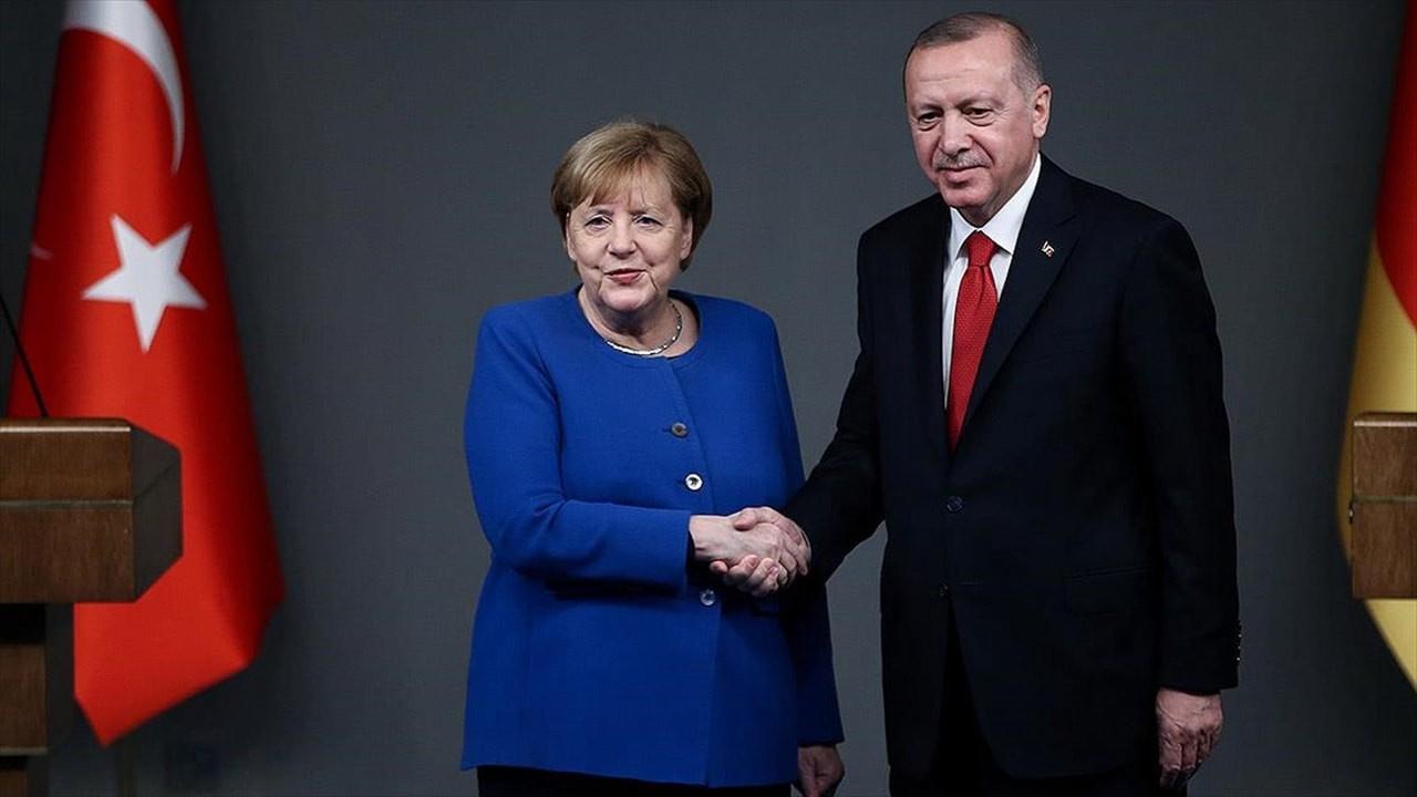 Merkel veda ziyaretine geliyor