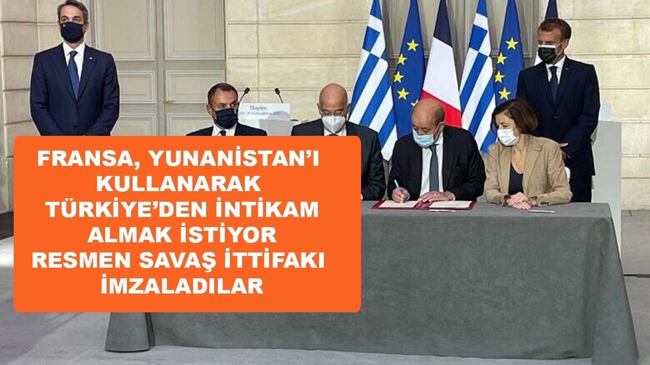 Fransa, Yunanistan'ı Türkiye'ye karşı dolduruyor