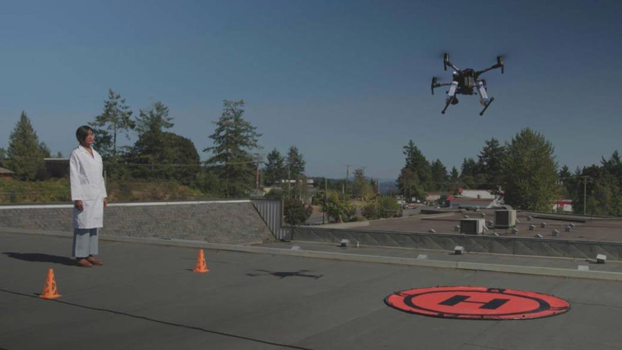 Organ naklinde drone kullanıldı
