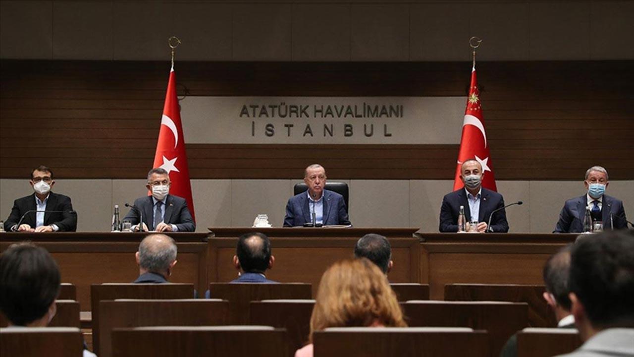 Erdoğan: Kılıçdaroğlu'nun tehditleri suçtur