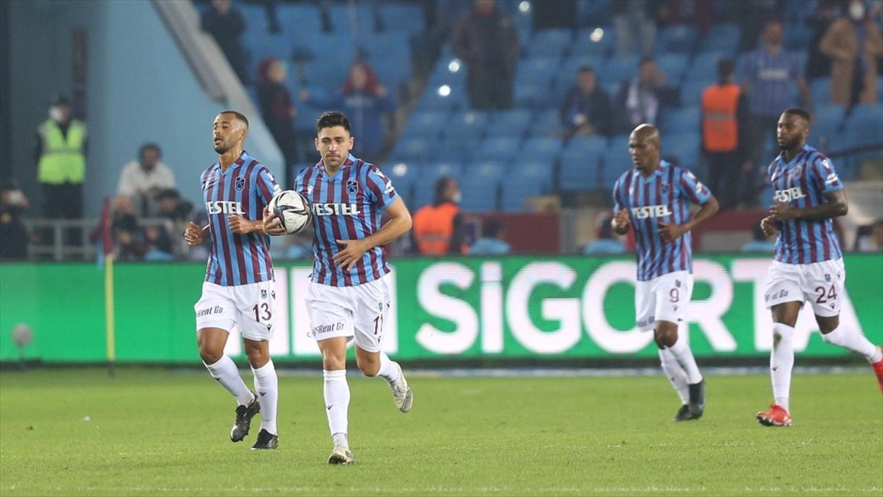 Süper Lig'de lider yeniden Trabzonspor