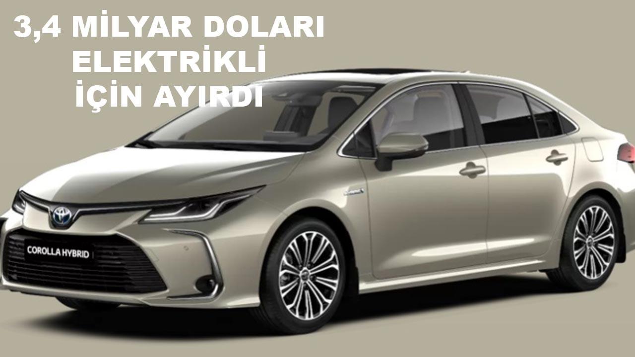 Toyota'dan dudak uçuklatan yatırım kararı