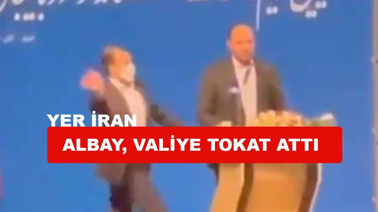 Valiye tokatlı saldırı, yer İran
