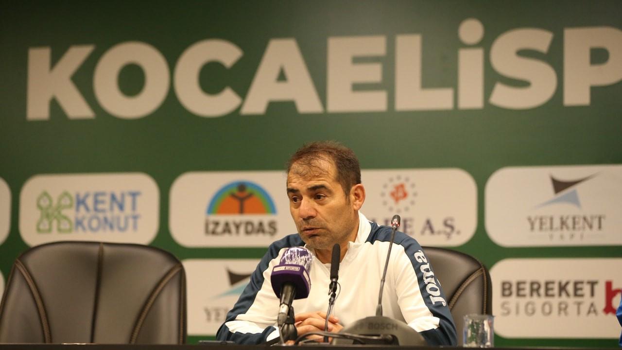 Mustafa Reşit Akçay'dan maç sonrası açıklama