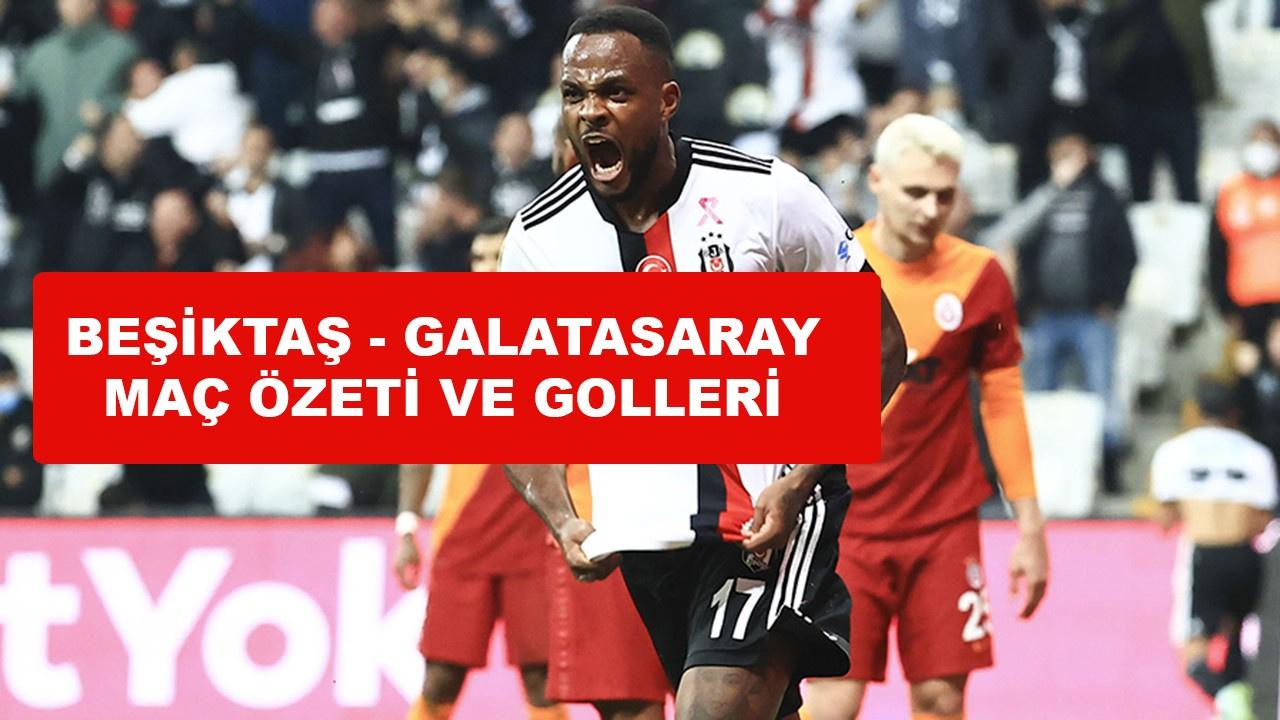 Beşiktaş Galatasaray maçı kaç kaç, golleri kim?