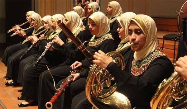 Mısır görme engelliler orkestrası