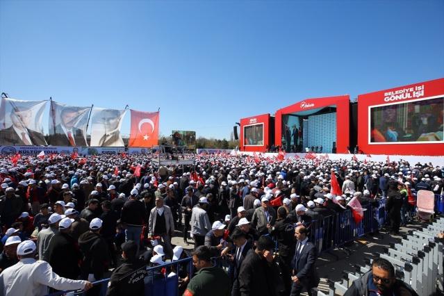 Cumhur İttifakı'nın Ankara mitinginden renkli görüntüler