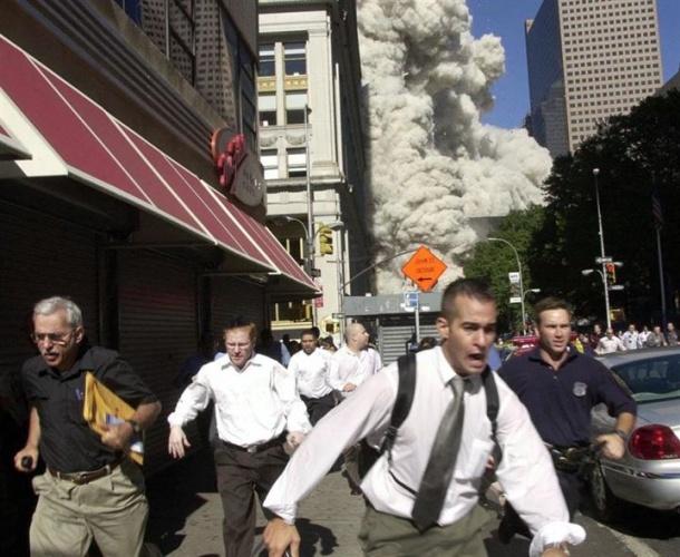 11 Eylül saldırılarının daha önce görülmemiş fotoğrafları