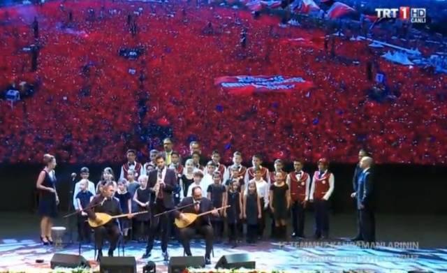 15 Temmuz Kahramanlarının Türküleri söylendi
