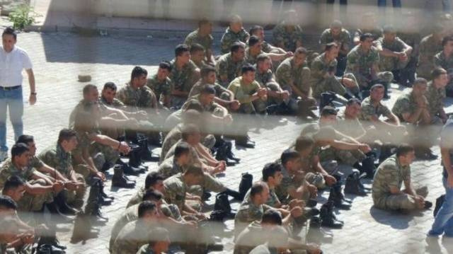 Şırnak'ta asker böyle gözaltına alındı