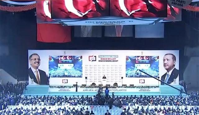 AK Parti Ankara aday tanıtım görüntüleri