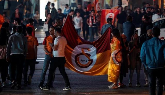 İstanbul ve Ankara'da Galatasaray'ın şampiyonluğu kutlamaları