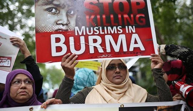 Dünyanın farklı ülkelerinde Arakan#039;daki zulüm protesto edildi