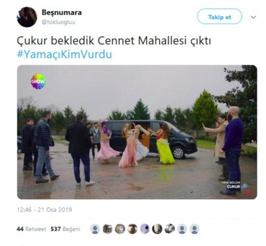 'Çukur' Sosyal Medyayı kırdı geçirdi