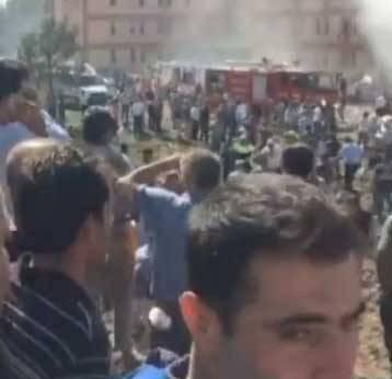 Elazığ'daki patlamadan ilk görüntüler