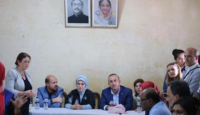 Arakanlıları sevince boğan Türk heyetinin ziyareti