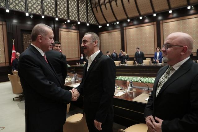 Cumhurbaşkanı Erdoğan sinema temsilcileriyle görüştü