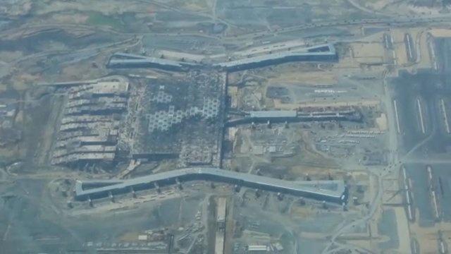 Üçüncü havalimanından son görüntüler