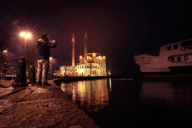 İstanbul'dan kartpostallık 'SİS' Manzaraları
