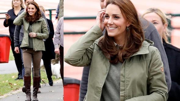 Kate Middleton geri döndü