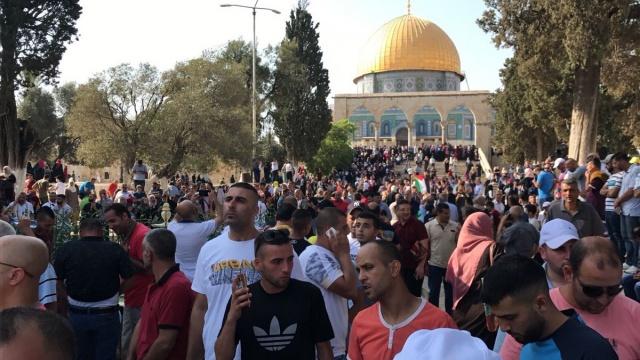 Müslümanlar günler sonra Mescid-i Aksa'da