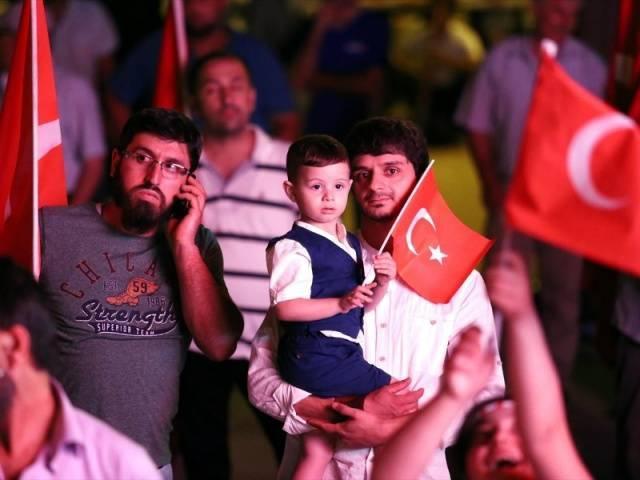 Türkiye genelinden meydanlardan 19. Gece kareleri