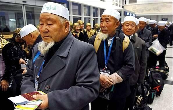 Çinli 11 bin hacı adayı Mekke'ye hareket etti
