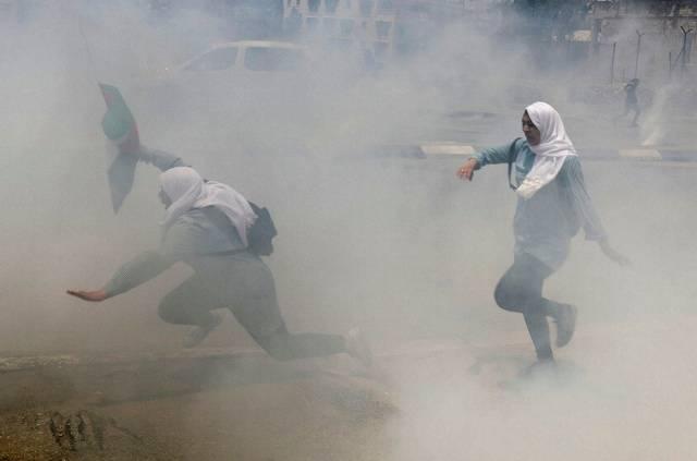 Filistin'de 'Nakba Günü' nde sokaklar doldu taştı