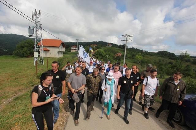 'Ölüm Yolu'nda 'Barış Yürüyüşü' tamamlandı