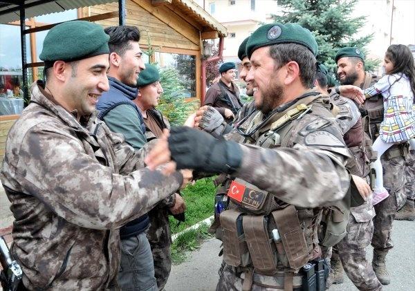 Özel Harekat Polisleri Afrin'den böyle döndü
