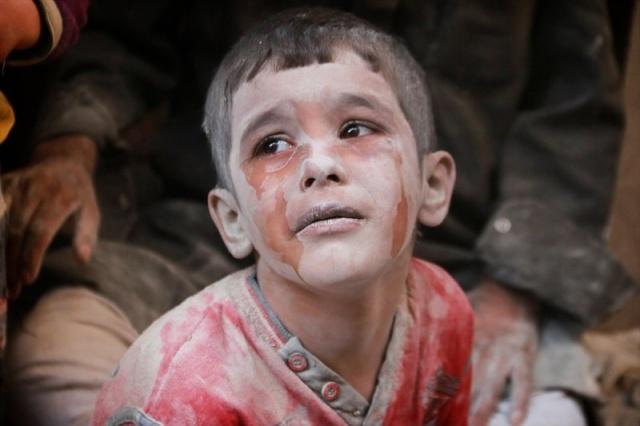 7. Yılında 73 karede Suriye iç savaşı