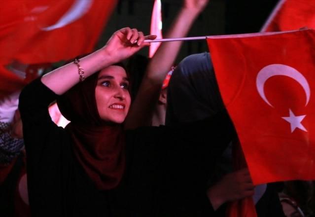 Türkiye genelinden 14. Gece nöbeti resimleri