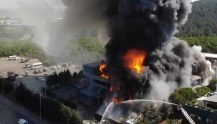 Tuzla'daki fabrika yangınından kareler - Sayfa 1