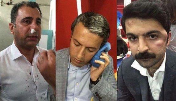 Ankaragücü yöneticileri Amedspor yöneticilerine saldırdı
