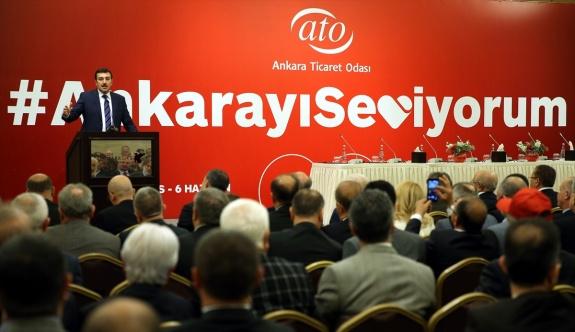 ATO'dan Ankara'da ticareti canlandırma kampanyası